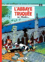 Couverture L'Abbaye truquée - Spirou et Fantasio, tome 22