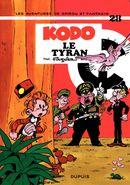 Couverture Kodo le tyran - Spirou et Fantasio, tome 28