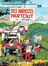 Couverture Des haricots partout - Spirou et Fantasio, tome 29