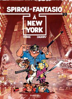 Couverture Spirou à New York - Spirou et Fantasio, tome 39
