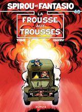 Couverture La Frousse aux trousses - Spirou et Fantasio, tome 40