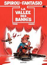 Couverture La Vallée des bannis - Spirou et Fantasio, tome 41