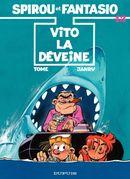 Couverture Vito la Déveine - Spirou et Fantasio, tome 43