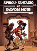 Couverture Le Rayon noir - Spirou et Fantasio, tome 44
