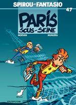 Couverture Paris sous-Seine - Spirou et Fantasio, tome 47