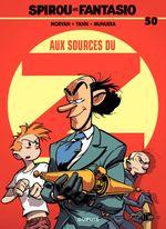 Couverture Aux sources du Z - Spirou et Fantasio, tome 50