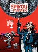 Couverture La Face cachée du Z - Spirou et Fantasio, tome 52