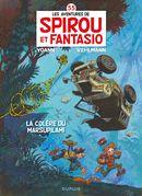 Couverture La Colère du Marsupilami - Spirou et Fantasio, tome 55