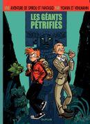 Couverture Les Géants pétrifiés - Une aventure de Spirou et Fantasio, tome 1