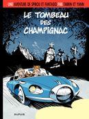 Couverture Le Tombeau des Champignac - Une aventure de Spirou et Fantasio, tome 3