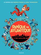 Couverture Panique en Atlantique - Une aventure de Spirou et Fantasio, tome 6