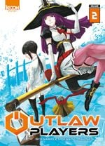 Couverture Outlaw Players, tome 2
