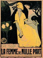 Affiche La Femme de nulle part