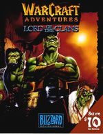 Jaquette Warcraft Adventures : Lord of the clans