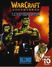 Jaquette Warcraft Adventures: Lord of the Clans