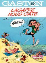Couverture Lagaffe nous gâte - Gaston (2009), tome 10
