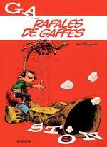 Couverture Rafales de gaffes - Gaston (2009), tome 8