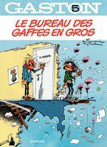 Couverture Le bureau des gaffes en gros - Gaston (2009), tome 5