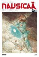 Couverture Nausicaä de la vallée du vent, tome 5