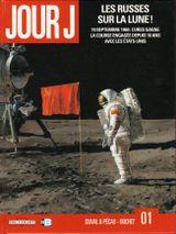 Couverture Les Russes sur la Lune ! - Jour J, tome 1