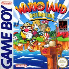 Jaquette Wario Land : Super Mario Land 3