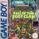 Jaquette Teenage Mutant Ninja Turtles : Fall of the Foot Clan