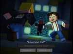 Jaquette Minecraft: Story Mode : Épisode 8 - La Fin du voyage