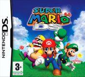 Jaquette Super Mario 64 DS