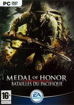 Jaquette Medal of Honor : Batailles du Pacifique
