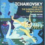 Pochette Swan Lake / The Sleeping Beauty / The Nutcracker