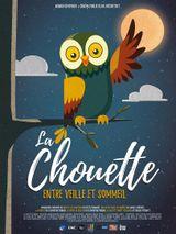 Affiche La Chouette, entre veille et sommeil