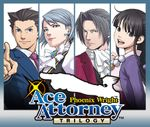 Jaquette Phoenix Wright : Ace Attorney Trilogy