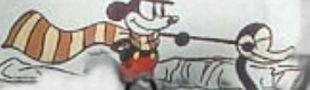 Affiche Mickey Gaucho