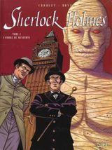 Couverture L'Ombre de Menephta - Sherlock Holmes, tome 3