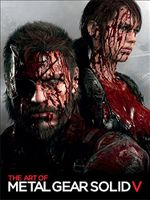 Couverture The Art of Metal Gear Solid V