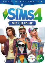 Jaquette Les Sims 4 : Vie Citadine