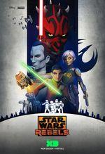 Affiche Star Wars : Rebels - Au cœur des ténèbres