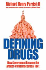 Couverture Defining Drugs