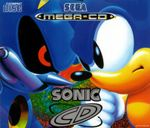 Jaquette Sonic CD