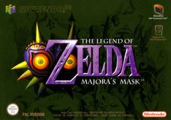 Jaquette The Legend of Zelda: Majora's Mask