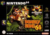 Jaquette Donkey Kong 64