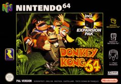 Jaquette Donkey Kong 64