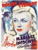 Affiche Mariage incognito