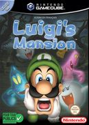 Jaquette Luigi's Mansion
