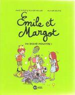 Couverture Un bazar monstre - Émile et Margot, tome 3