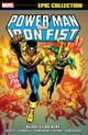 Couverture Heroes For Hire - Power Man & Iron Fist (Epic Collection), tome 1
