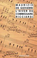 Couverture L'hiver du commissaire Ricciardi