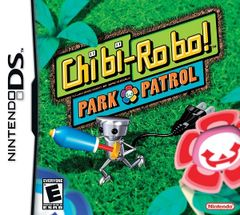 Jaquette Chibi-Robo ! Park Patrol