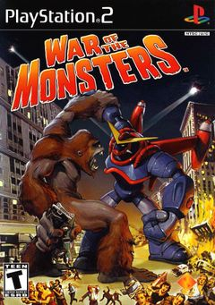 Jaquette War of the Monsters