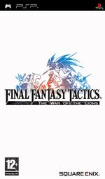Jaquette Final Fantasy Tactics : The War of the Lions